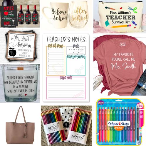 Gift Ideas forTeachers