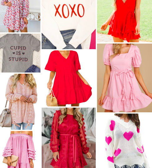 Galentine's & Valentine's Outfits